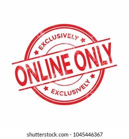 Online Only Images, Stock Photos & Vectors | Shutterstock