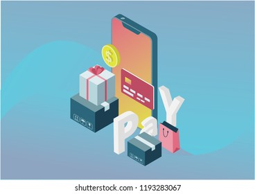 Online Pay Concept