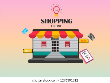 online shoping For the idea of ​​the store