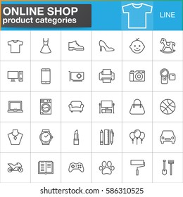 Shopping Category Icon Stock Vectors Images Vector Art Shutterstock