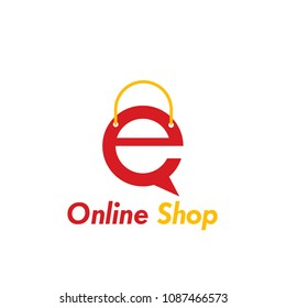an online store logo for small to large companies, a modern logo for the business world
