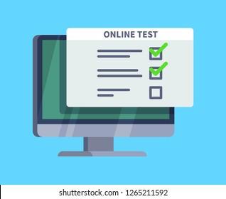 Computer Exam Images, Stock Photos & Vectors | Shutterstock