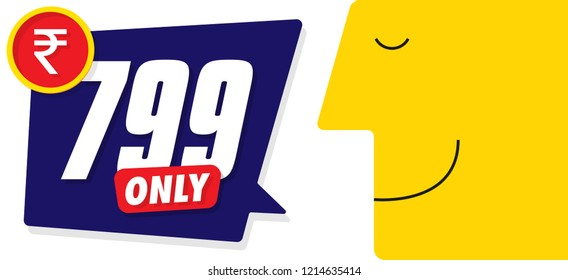 Only for 99. Vector illustration badges of under 99 price tag. Round flat design labels, Business shopping concept.