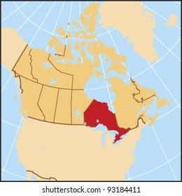 Ontario Locate Map