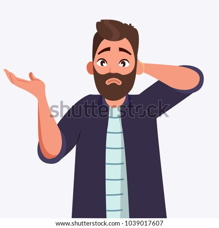 Oops Sorry Do Not Know Question Stock Vector (Royalty Free ...  Oops Sorry Do N...
