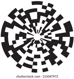 Op art, also known as optical art, is a style of visual art that makes