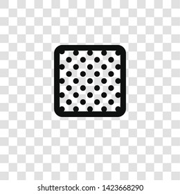opacity icon from miscellaneous collection for mobile concept and web apps icon. Transparent outline, thin line opacity icon for website design and mobile, app development