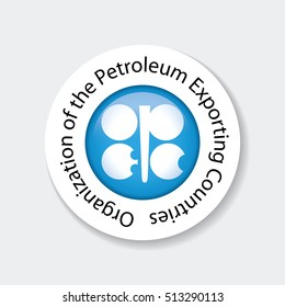 OPEC icon. Organization of the Petroleum Exporting Countries