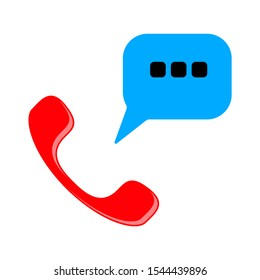 open 24/7 service icon, vector customer service, support sign, call center sign