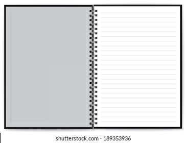 notebook page images stock photos vectors shutterstock