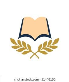 open book bible vector