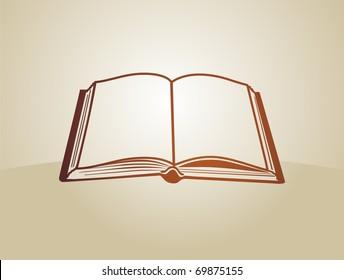 Open book color