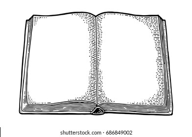 Image result for open book drawing