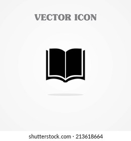Open book - Vector icon