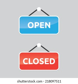 Open and Closed Vector Signs