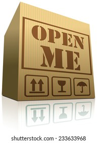 open me internet web icon, opening reveal and discover surprise and mystery