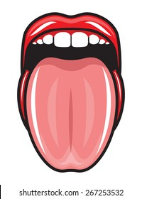 tongue sticking out images stock photos vectors shutterstock rh shutterstock com cartoon sticking out tongue cartoon character sticking out tongue