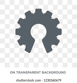 open source icon. Trendy flat vector open source icon on transparent background from General collection. High quality filled open source symbol use for web and mobile