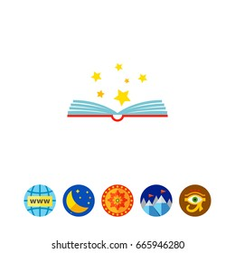 Opening Book Icon