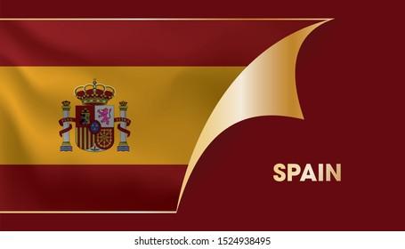 Opening poster for SPAIN flag.