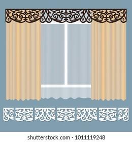 Lace Curtains Images, Stock Photos & Vectors | Shutterstock