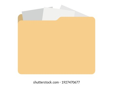 Operating system folder icon in white background.