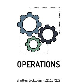 OPERATIONS Line icon