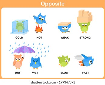 Opposite word for preschool (hard, soft, rich, poor, low, high, right, wrong, close, open)