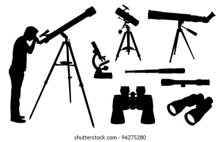 optical equipment illustration