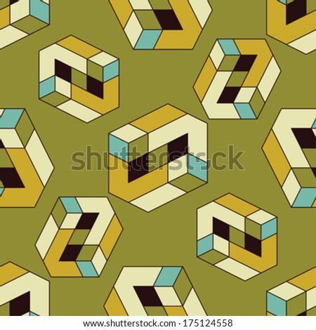 optical illusions geometric shapes