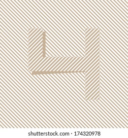 Optical illusion pixel number - 4