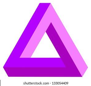 Optical Illusion The Triangle Of Tribar