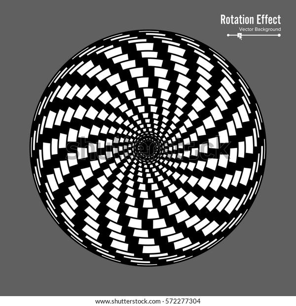 Vector De Stock Libre De Regalías Sobre Optical Illusion