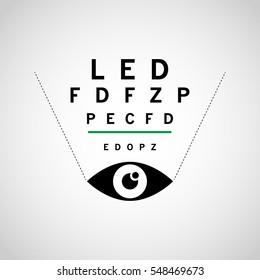 OPTOMETRY logo vector icon design