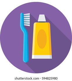 Oral Care Vector Icon