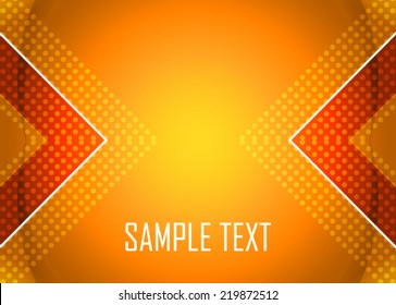 Background Orange Vector Stock Vectors Images Vector Art