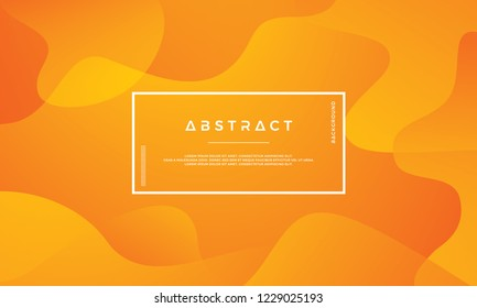 Orange abstract background is suitable for web, header, cover, brochure, web banner and others.
