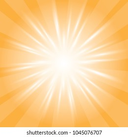 Orange background, sun light background