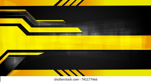 Orange and black Abstract business background.Vector design.