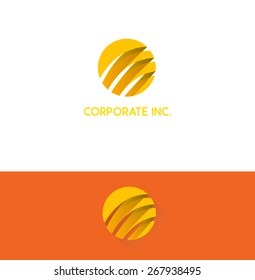 Orange business corporate logo design