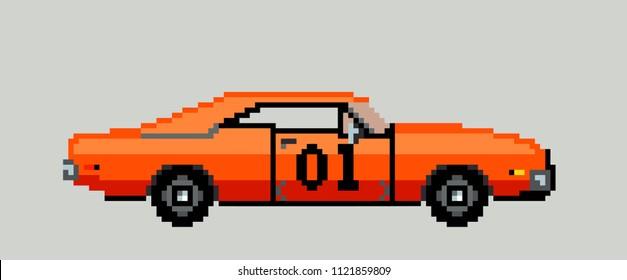 1000 Pixel Art Vehicle Stock Images Photos Vectors