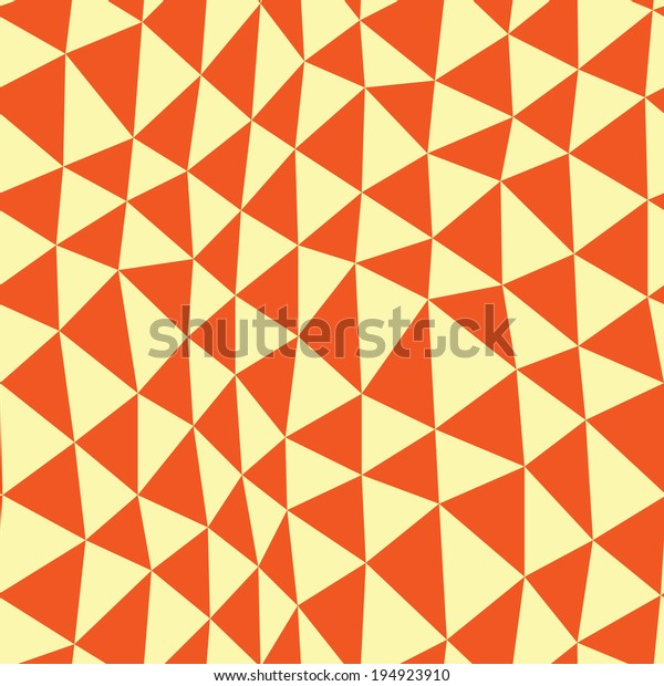 orange colorful abstract mosaic triangle 600w 194923910