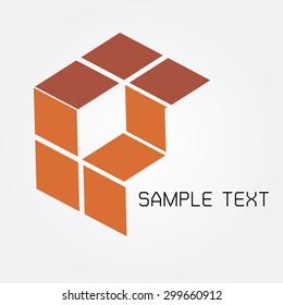 orange cube logo