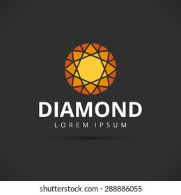Orange Diamond Logo