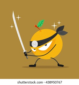 orange fruit fighting club