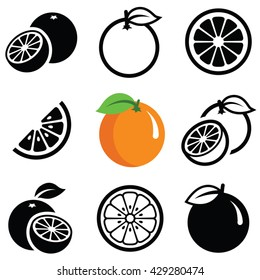 Silhouette Orange Stock Vectors, Images & Vector Art