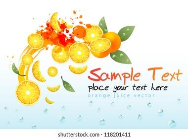 orange juice composition