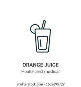 juice bar logo images stock photos vectors shutterstock https www shutterstock com image vector orange juice outline vector icon thin 1682695729
