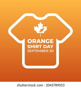 orange shirt day  every child matters, national day of truth and reconciliation modern creative banner, design concept, social media post