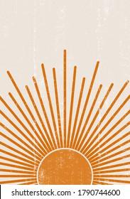 orange sun print boho minimalist 260nw 1790744600